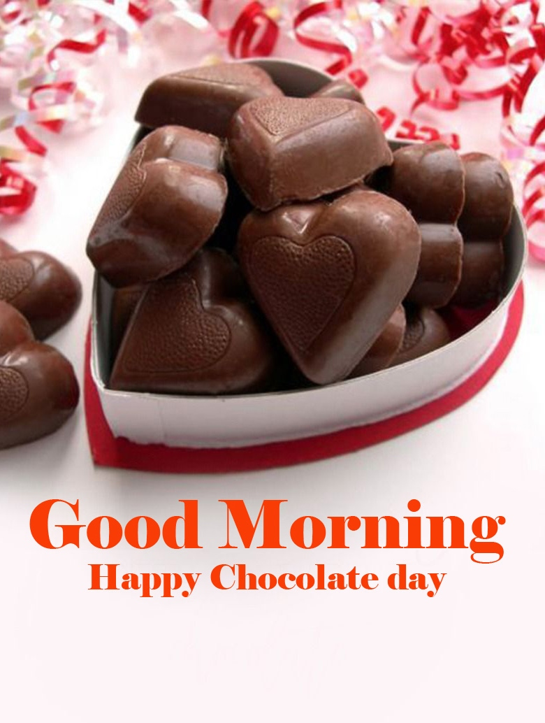 Happy Chocolate Day Good Morning Images Wallpaper Free Download