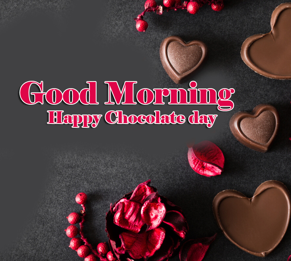 Happy Chocolate Day Good Morning Images Pics for Facebook