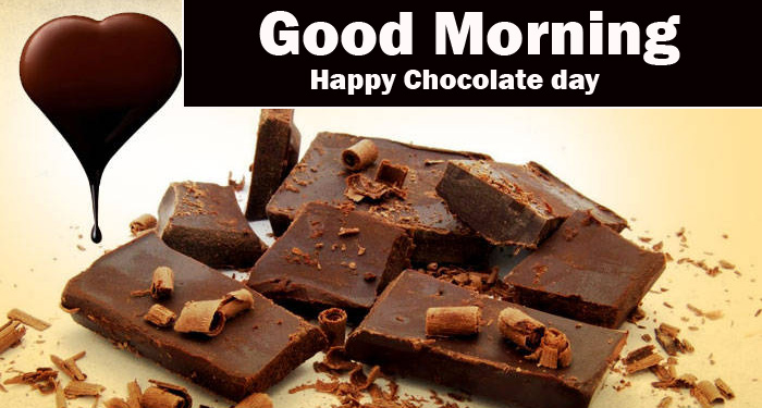Best Latest Happy Chocolate Day Good Morning Images Pics Download