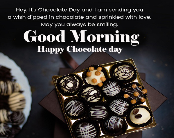 Happy Chocolate Day Good Morning Images Photo free Download