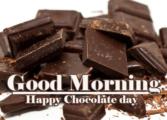 Happy Chocolate Day Good Morning Images Wallpaper for Facebook