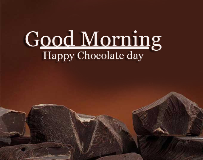 Happy Chocolate Day Good Morning Images Wallpaper Free for Facebook