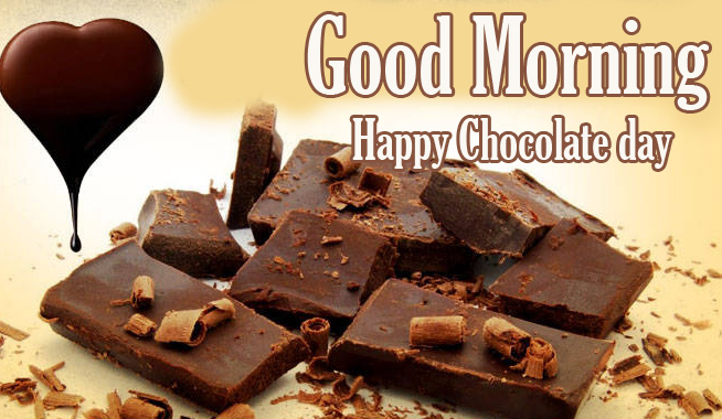 Happy Chocolate Day Good Morning Images Pics Wallpaper Free Download
