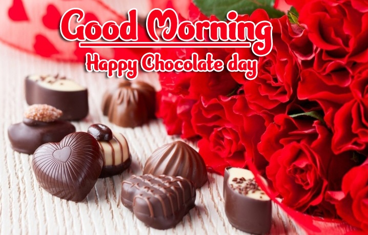 Rose Free Happy Chocolate Day Good Morning Images Pic Download