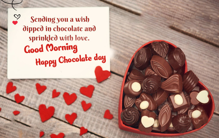Happy Chocolate Day Good Morning Images Pics Wallpaper Latest Download