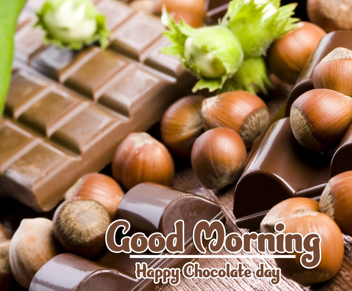 Beautiful Free Happy Chocolate Day Good Morning Images