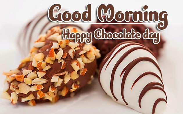 Beautiful Free Happy Chocolate Day Good Morning Images Pics Free Download