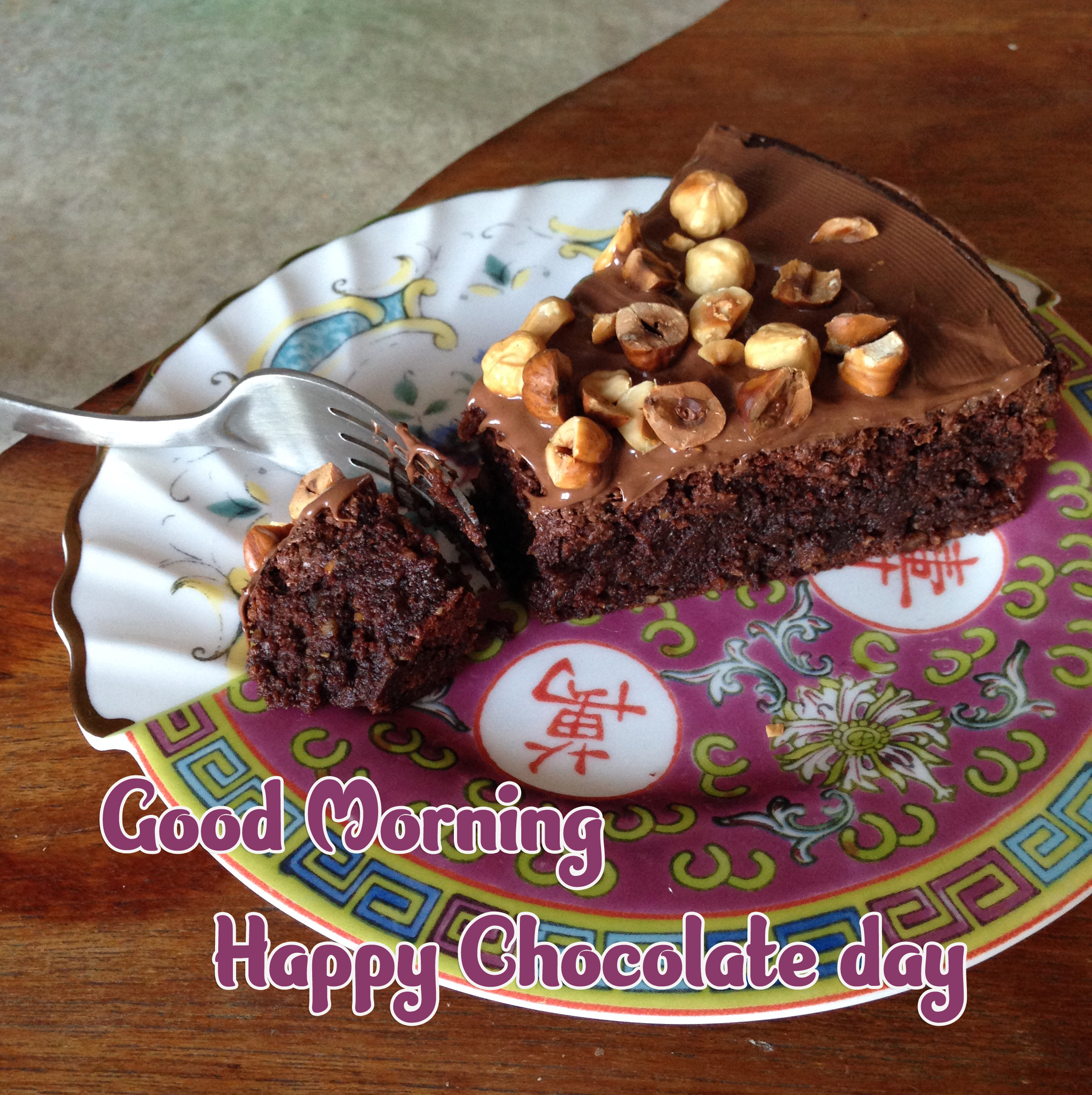 Beautiful Free Happy Chocolate Day Good Morning Images Pics for Whatsapp / Facebook