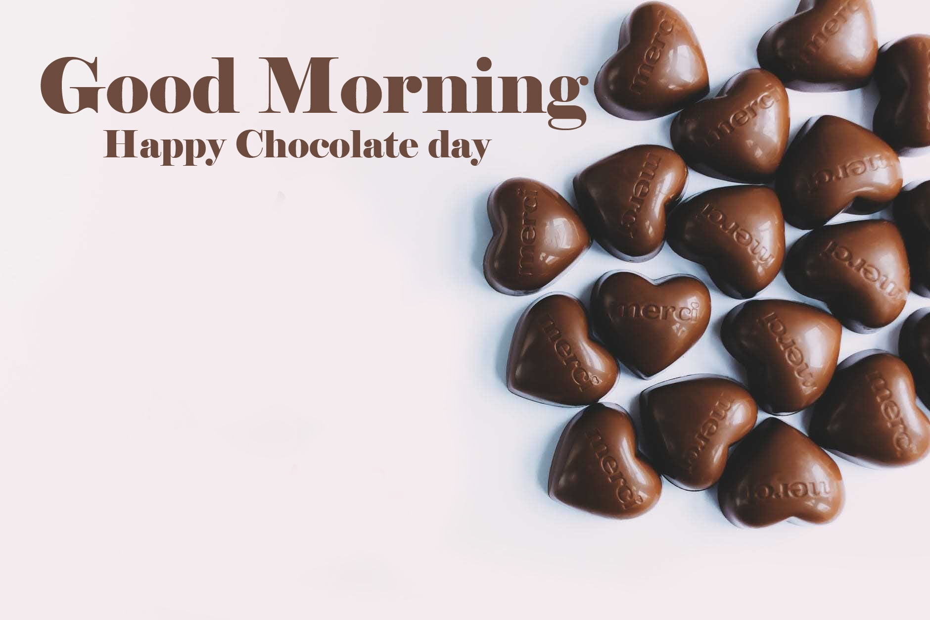 Happy Chocolate Day Good Morning Images Pics Free Download