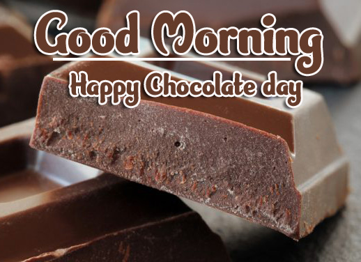 Beautiful Free Happy Chocolate Day Good Morning Images Pics Download