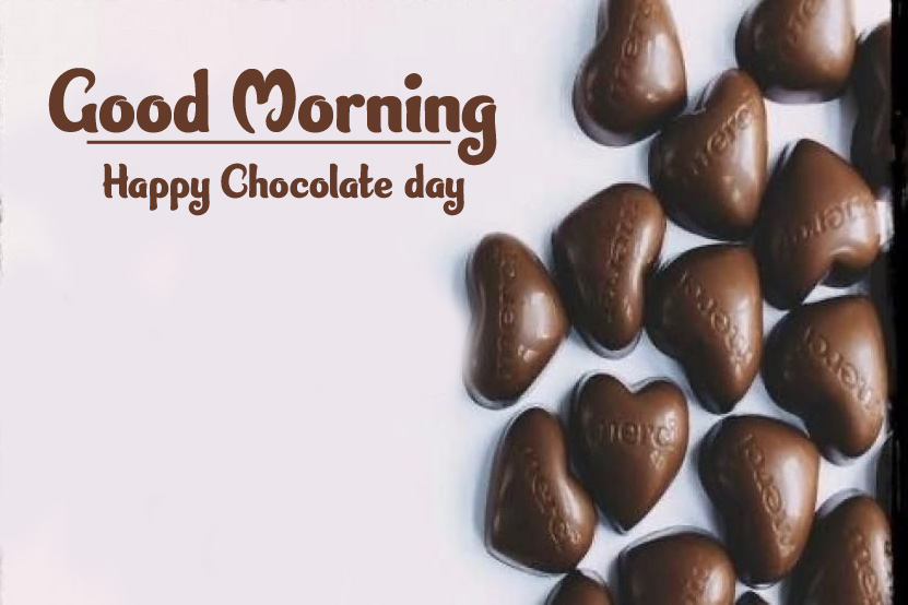 Beautiful Free Happy Chocolate Day Good Morning Images pics for Facebook