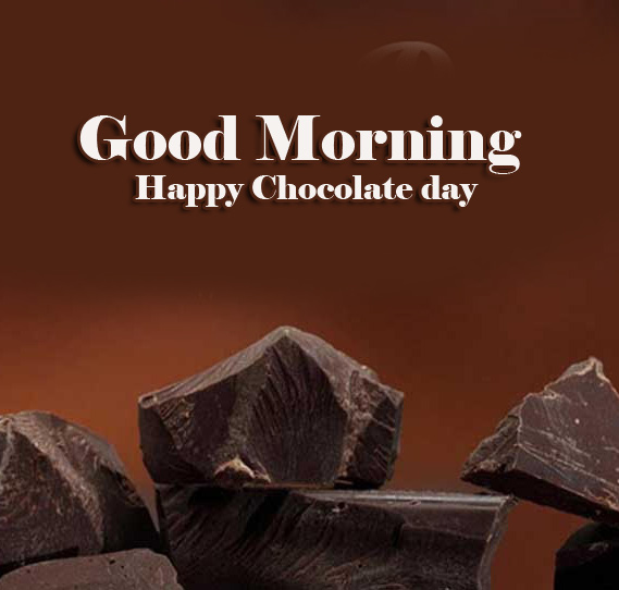 Beautiful Free Happy Chocolate Day Good Morning Images Wallpaper for Facebook