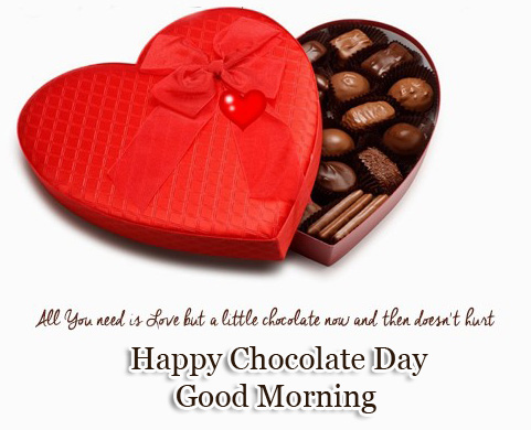 Chocolate Day Good Morning Wallpaper free Download