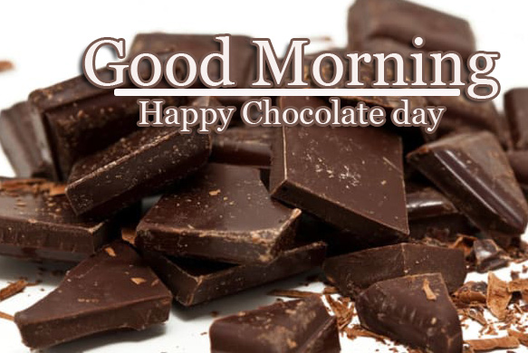 Chocolate Day Good Morning photo free Download