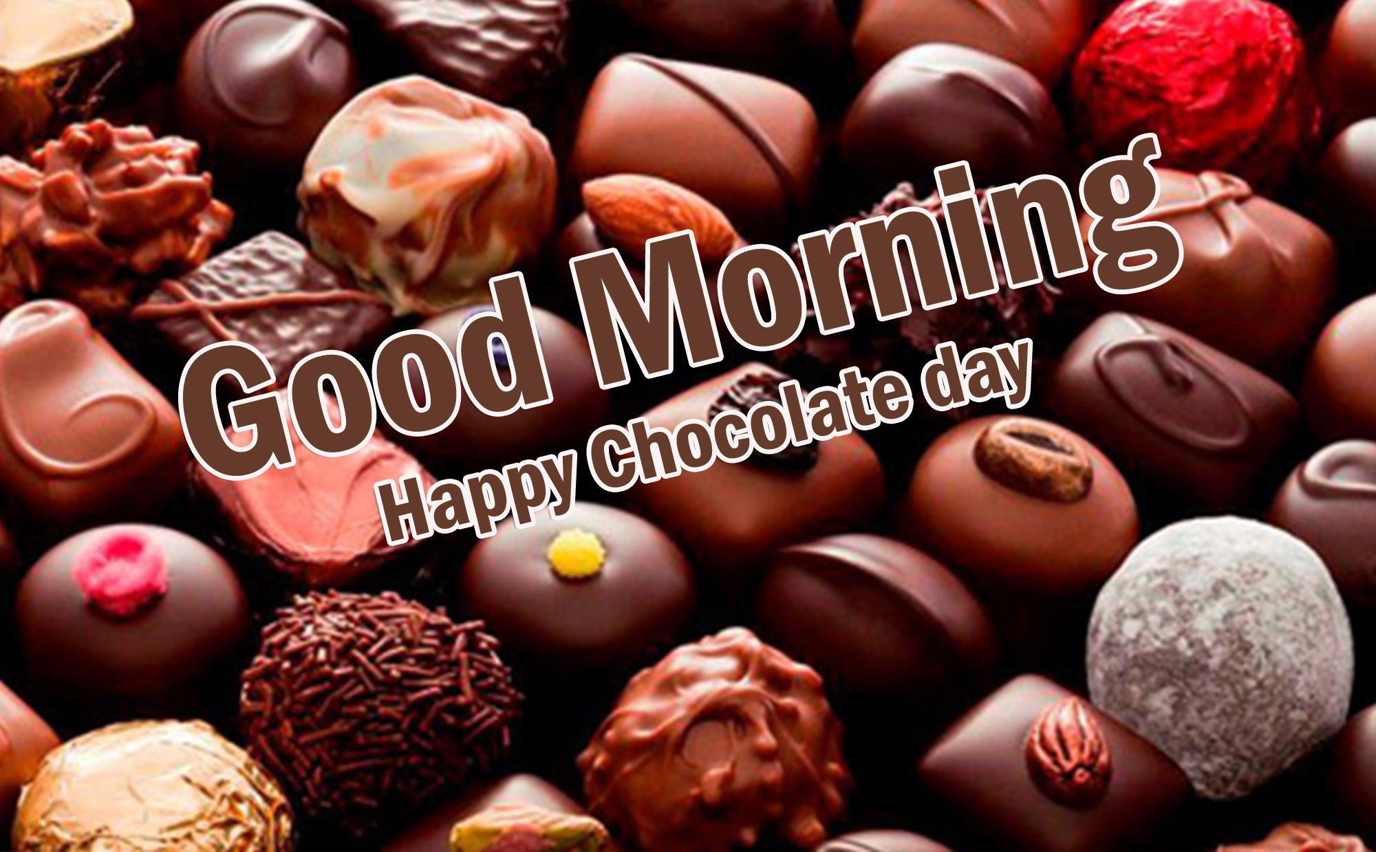 Chocolate Day Good Morning Pics FOR fACEBPOOK
