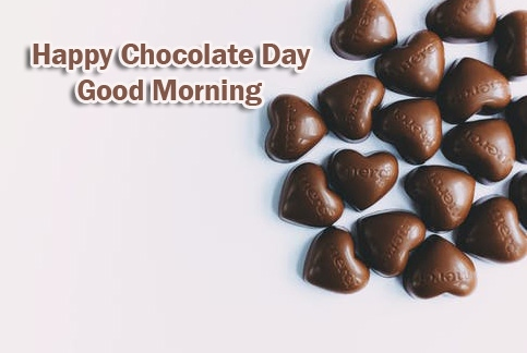 Chocolate Day Good Morning Pics Wallpaper for Facebook