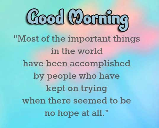 Quotes Good Morning Images pics Free Download