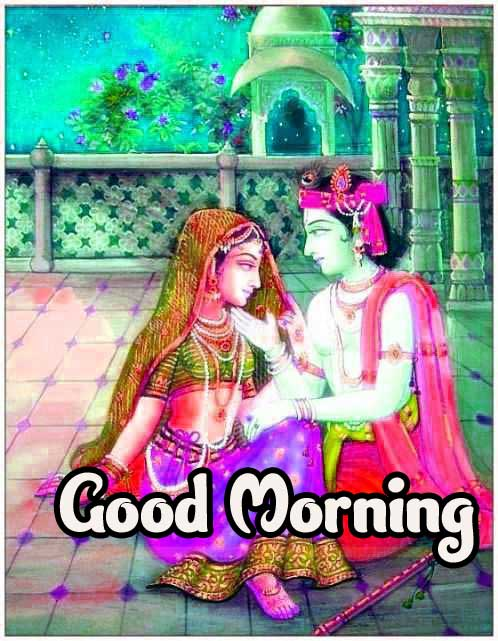 Radha Krishna Best Latest Good Morning Images Pics Download