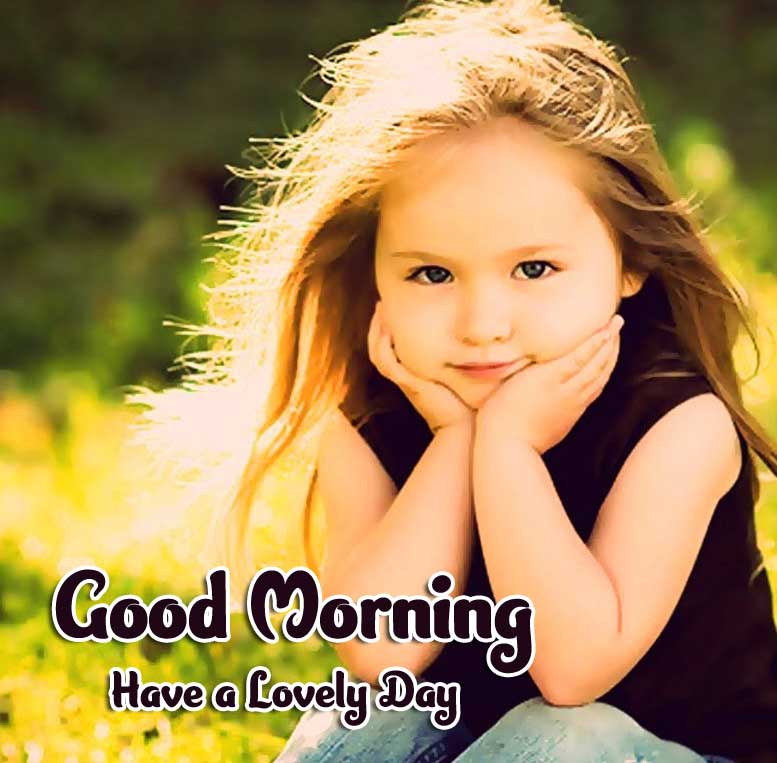 Best Latest Good Morning Images Wallpaper With Cute Baby