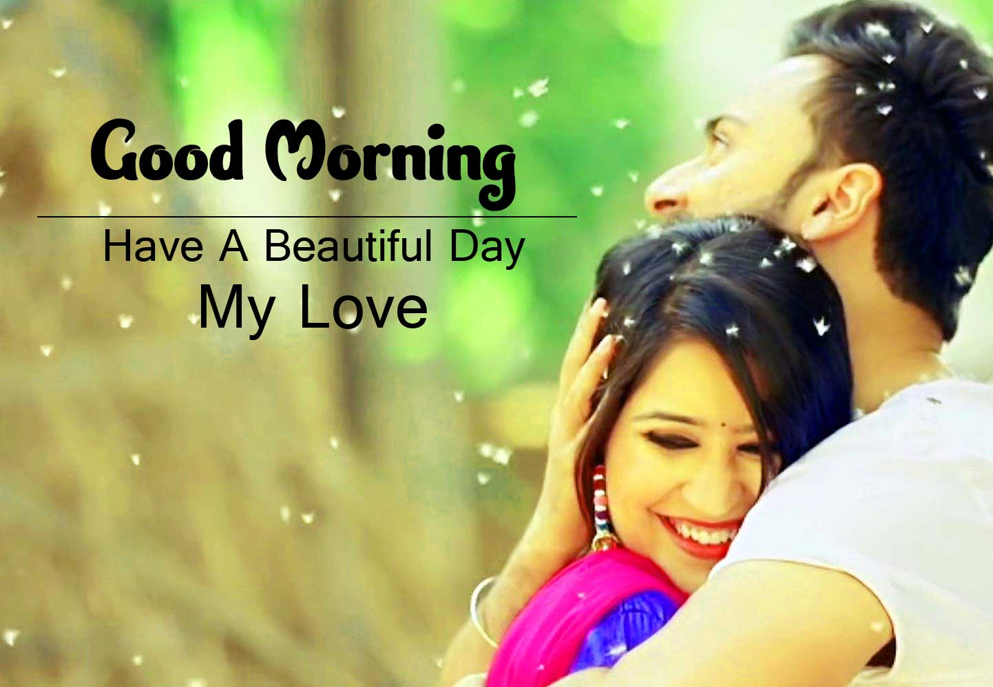 Love Couple Full HD Good Morning Pics Download