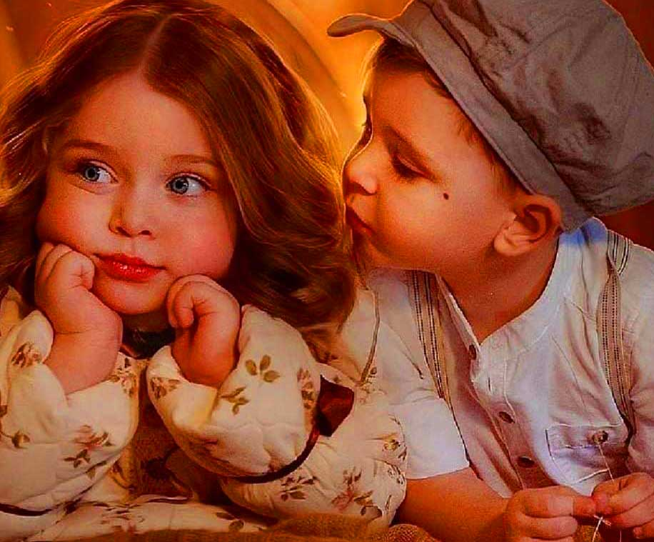 Cute Baby Romantic Love Whatsapp Dp Profile Images Pics