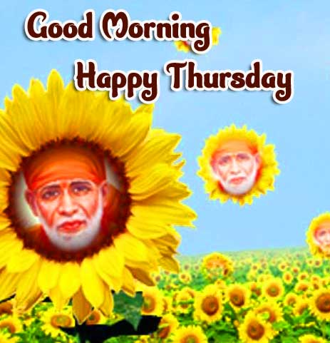 Sai Baba Thursday Good Morning Images Pics Download Free