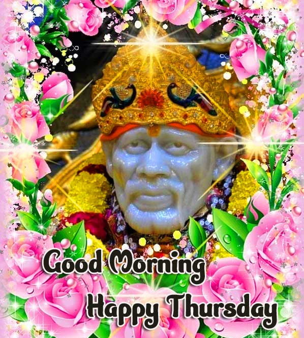 Shirdi Thursday Good Morning Images Pics Wallpaper Download