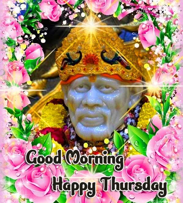 Shirdi Thursday Good Morning Images Pics Wallpaper Download