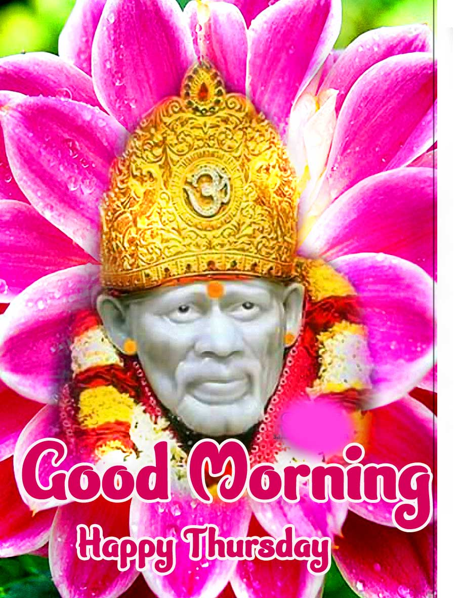 Sai Baba Thursday Good Morning Images Pics Wallpaper Download