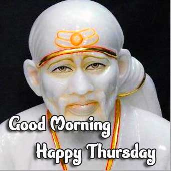 Sai Baba Beautiful Thursday Good Morning Images Pic Download Latest Free