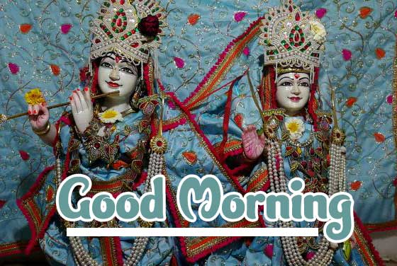 God Radha Krishna Good Morning Images 4K 1080p Photo Wallpaper Download