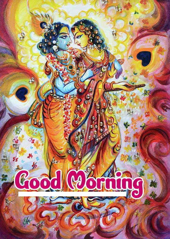 God Krishna Good Morning Images 4K 1080p Pics Download