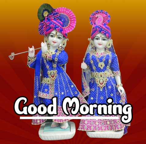 Krishna Good Morning Wishes Images 4K 1080p Pics Wallpaper Download