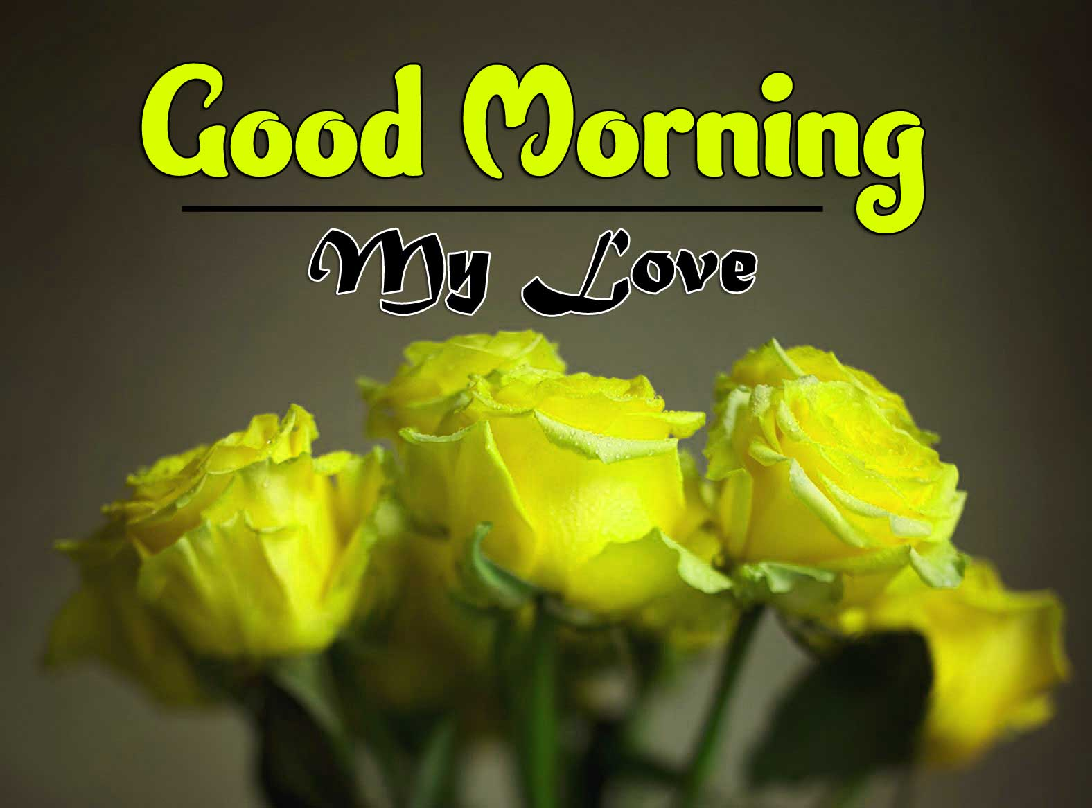 With Flower Good Morning Pics Download free