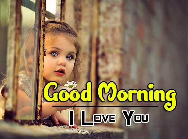 Cute Baby Good Morning Wallpaper Download