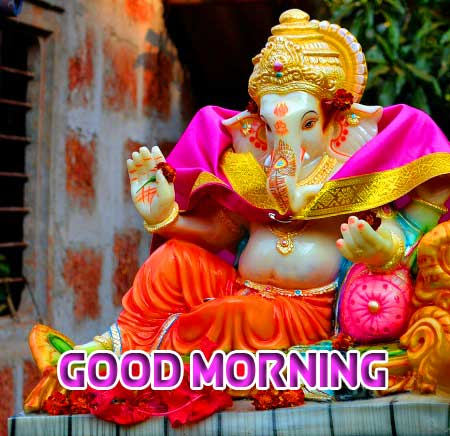 Lord Ganesha Good Morning Wishes
