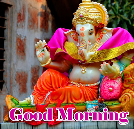 Lord Ganesha Good Morning Wishes Images Free
