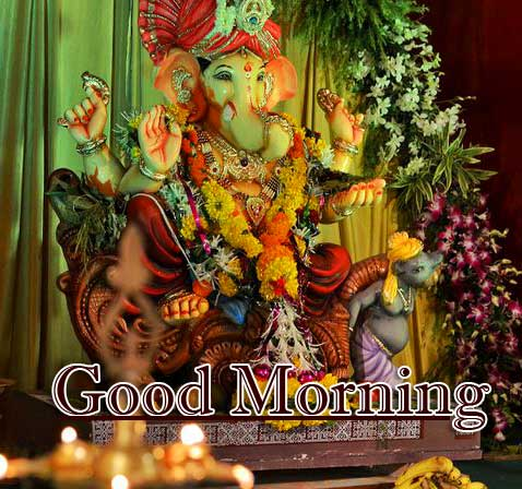 Lord Ganesha Good Morning Wishes Pics Download