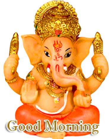 Good Morning Ganpati Bappa Wallpaper for facebook