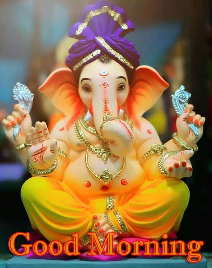 Good Morning Ganpati Bappa Pics For Facebook