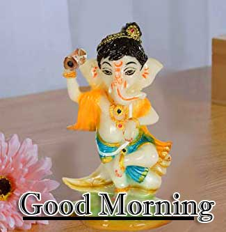 Good Morning Ganpati Bappa Pics Wallpaper Free Download