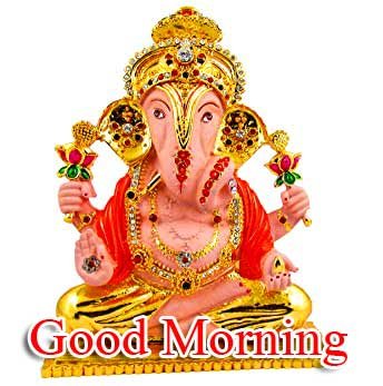 New Free Good Morning Ganpati Bappa Images Pics Download
