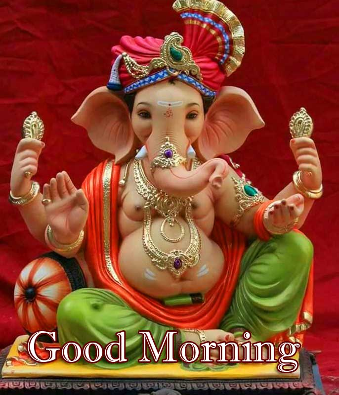 Good Morning Ganpati Bappa Pics Free Download