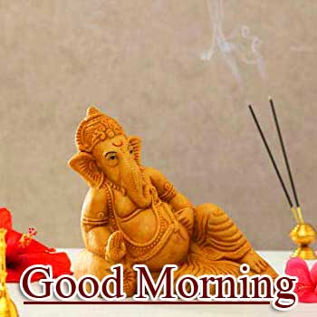 Good Morning Ganpati Bappa Wallpaper Free