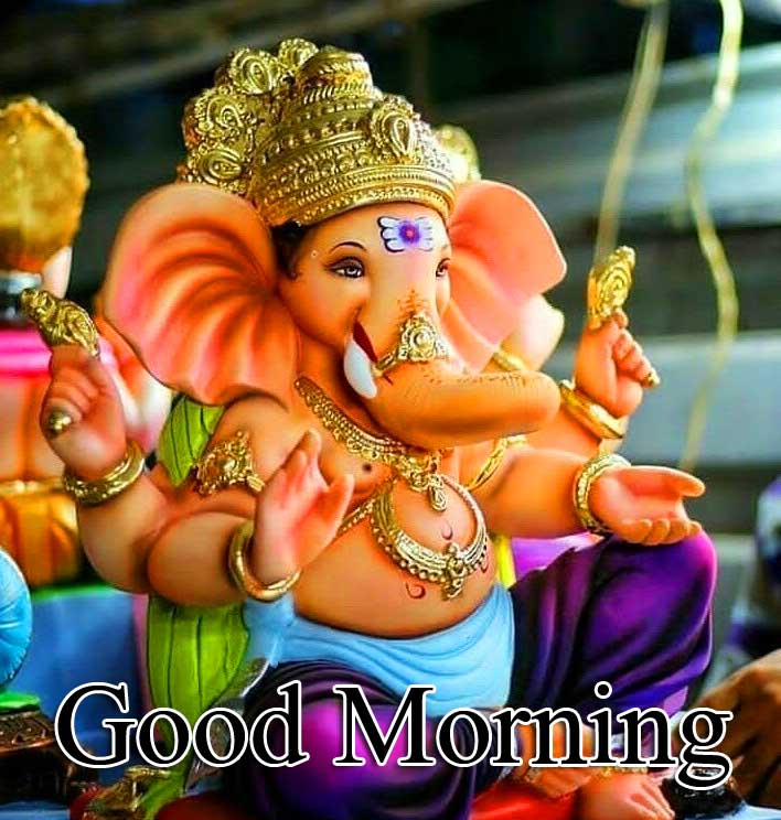 Good Morning Ganpati Bappa Pics Wallpaper Free