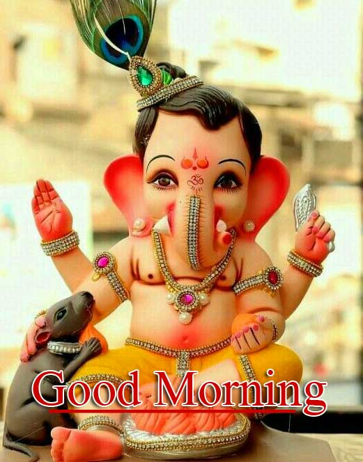 Good Morning Ganpati Bappa Pics Free Download here
