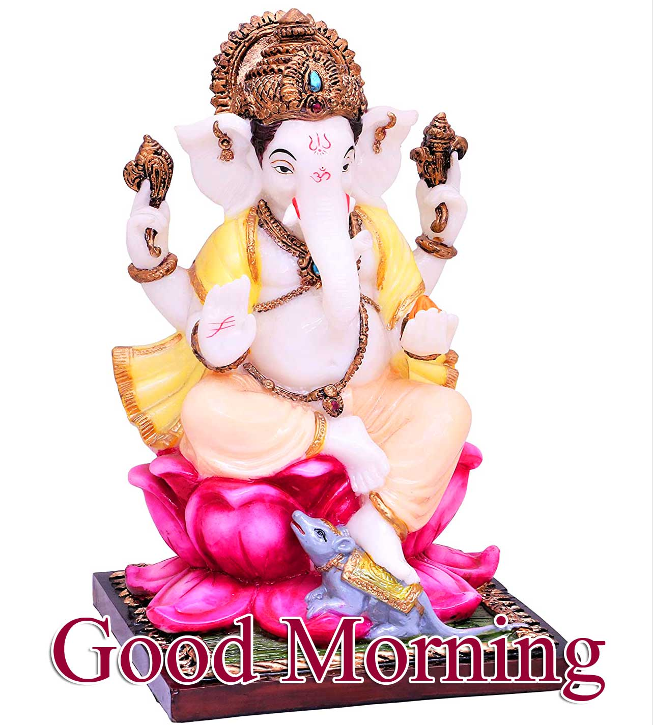 Latest Updated Good Morning Ganpati Bappa Images Download