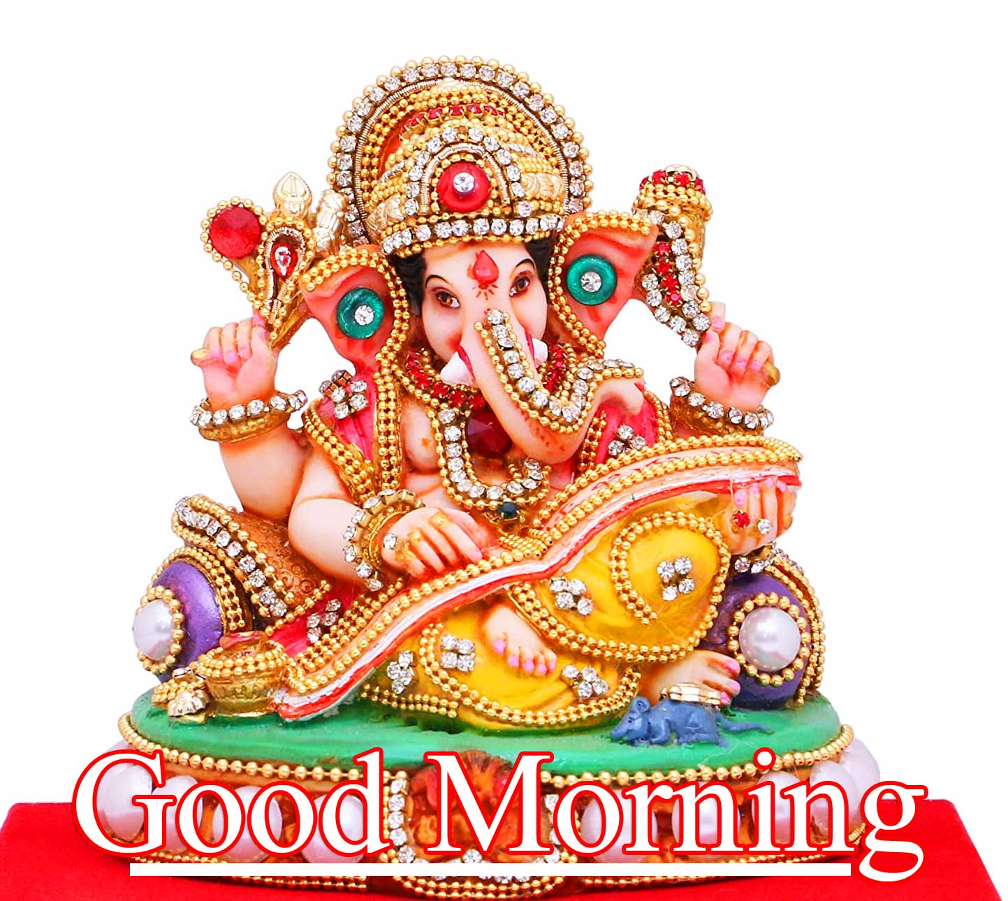 Latest Updated Good Morning Ganpati Bappa Wallpaper Pics Download