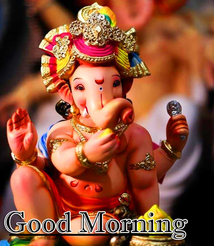 Good Morning Ganpati Bappa Wallpaper Pics Download
