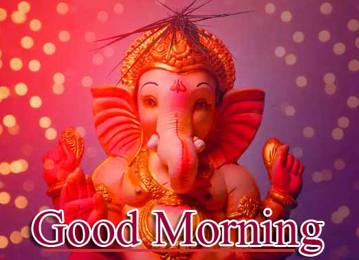 Latest Updated Good Morning Ganpati Bappa Wallpaper Download
